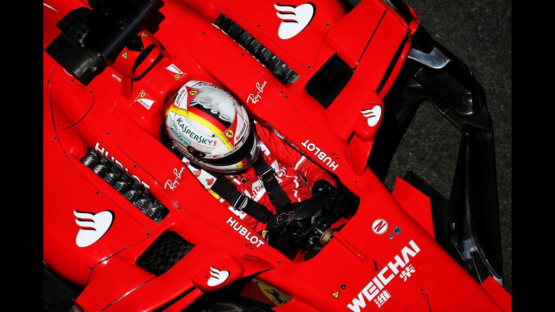 Sebastian Vettel - Ferrari - Formel 1 - GP Aseerbaidschan 2017 - Training - Freitag - 23.6.2017