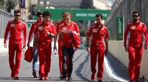 Sebastian Vettel - Ferrari - Formel 1 - GP Aserbaidschan - 26. April 2018