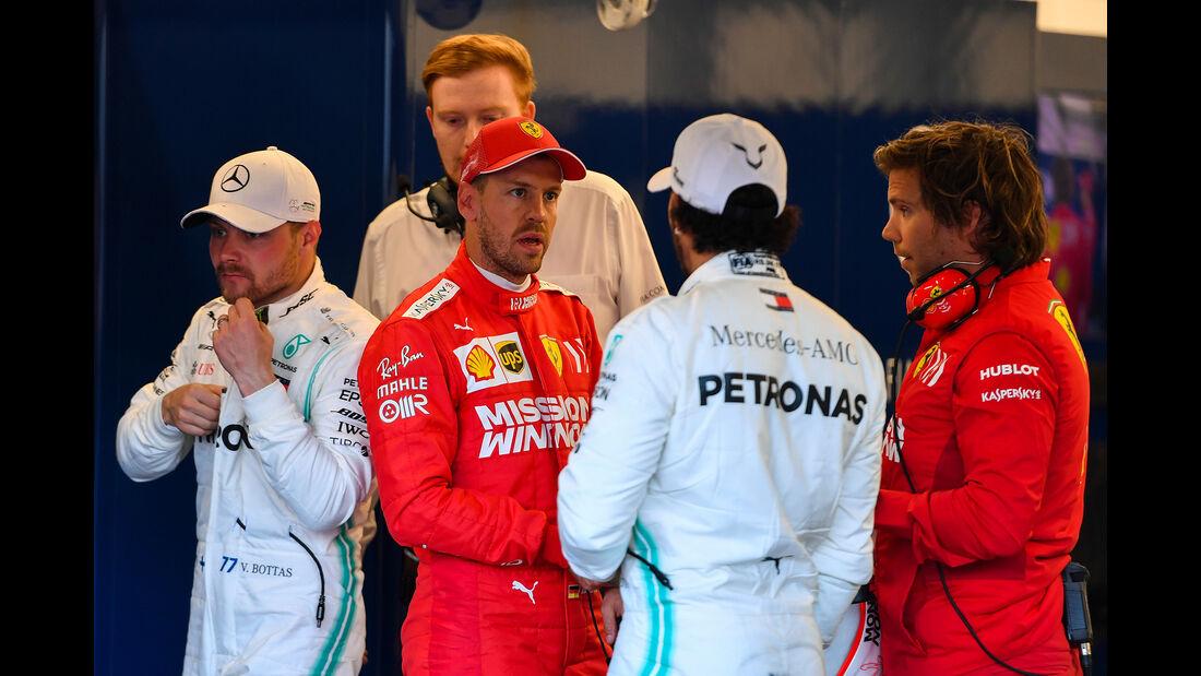 Sebastian Vettel - Ferrari - Formel 1 - GP Aserbaidschan - 27. April 2019