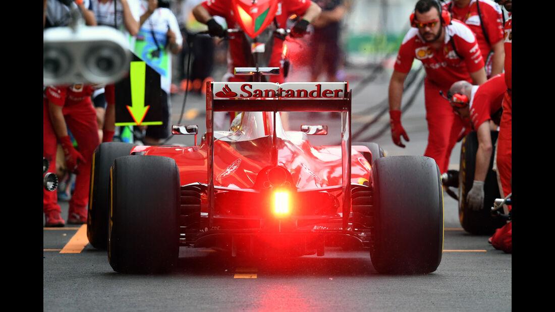 Sebastian Vettel - Ferrari - Formel 1 - GP Aserbaidschan - Baku - 17. Juni 2016