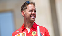 Sebastian Vettel - Ferrari - Formel 1 - GP Aserbaidschan - Baku - 25. April 2019