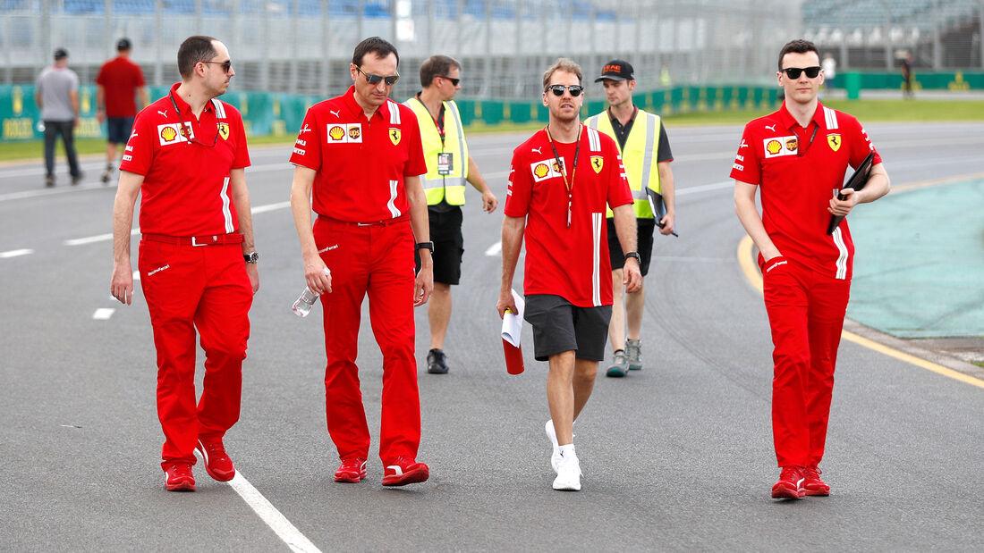 Sebastian Vettel - Ferrari - Formel 1 - GP Australien - Melbourne - 11. März 2020