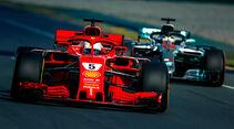 Sebastian Vettel - Ferrari - Formel 1 - GP Australien - Melbourne - 23. März 2018
