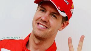 Sebastian Vettel - Ferrari - Formel 1 - GP Bahrain - 16. April 2015
