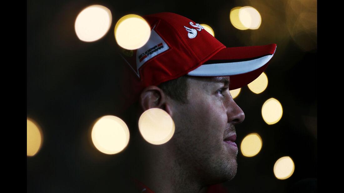 Sebastian Vettel - Ferrari - Formel 1 - GP Bahrain - 18. April 2015