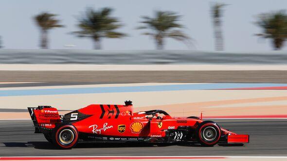 Sebastian Vettel - Ferrari - Formel 1 - GP Bahrain - 29. März 2019