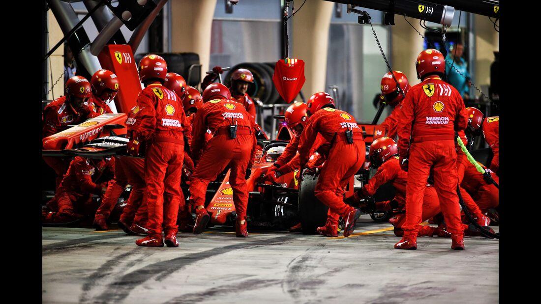 Sebastian Vettel - Ferrari - Formel 1 - GP Bahrain - 31. März 2019