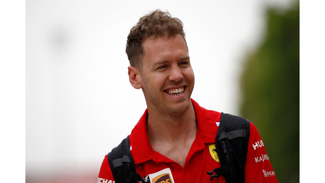 Sebastian Vettel - Ferrari - Formel 1 - GP Bahrain - 5. April 2018