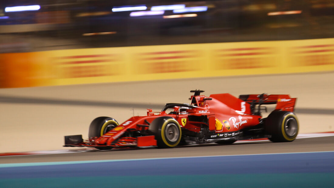 Sebastian Vettel - Ferrari - Formel 1 - GP Bahrain - Sakhir - Freitag - 27.11.2020
