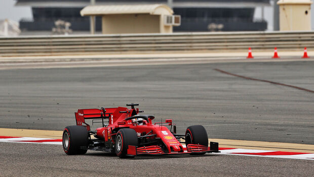 Sebastian Vettel - Ferrari - Formel 1 - GP Bahrain- Sakhir - Freitag - 27.11.2020