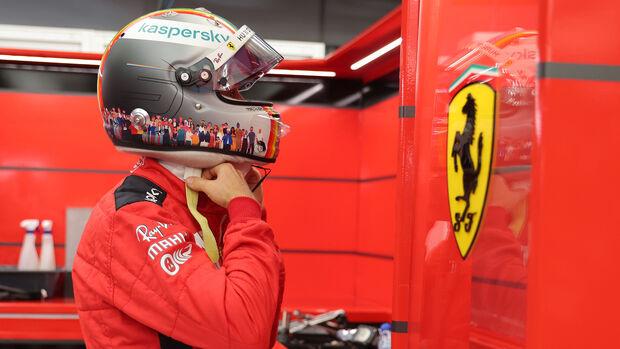 Sebastian Vettel - Ferrari - Formel 1 - GP Bahrain - Sakhir - Qualifikation - Samstag - 28.11.2020