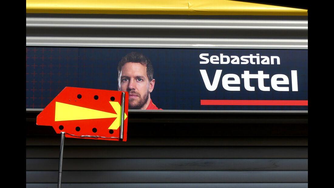 Sebastian Vettel - Ferrari - Formel 1 - GP Belgien - Spa-Francorchamps - 22. August 2018