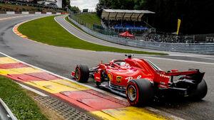 Sebastian Vettel - Ferrari - Formel 1 - GP Belgien - Spa-Francorchamps - 25. August 2018