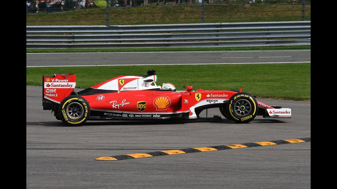Sebastian Vettel - Ferrari - Formel 1 - GP Belgien - Spa-Francorchamps - 26. August 2016