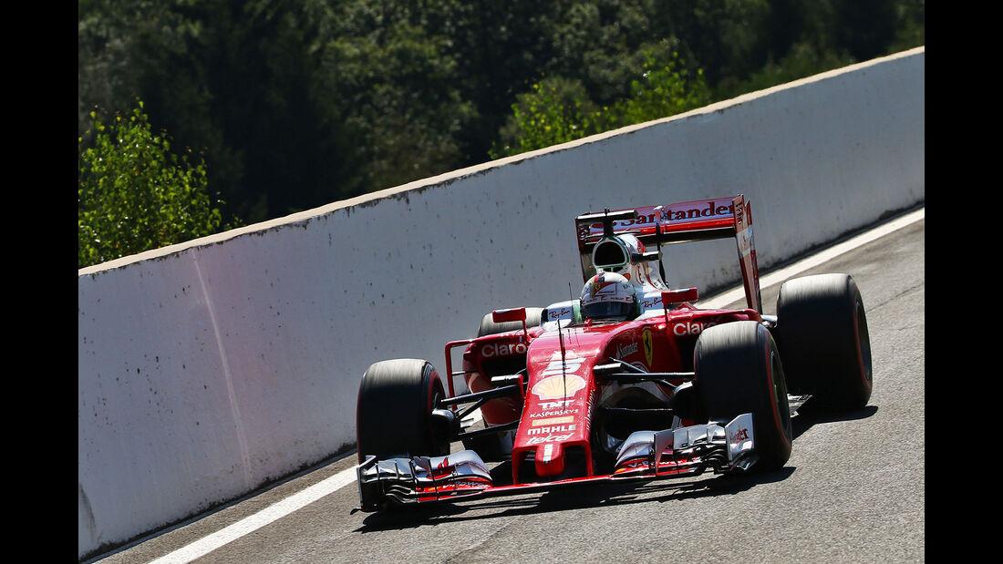 Sebastian Vettel - Ferrari - Formel 1 - GP Belgien - Spa-Francorchamps - 27. August 2016