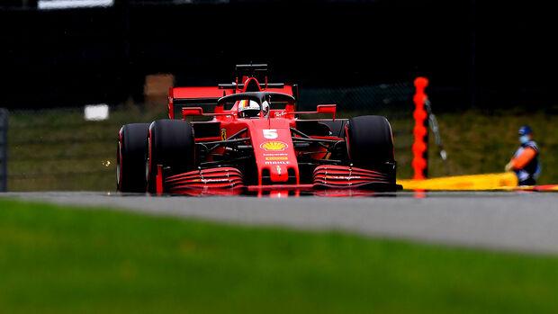 Sebastian Vettel - Ferrari - Formel 1 - GP Belgien - Spa-Francorchamps - 28. August 2020