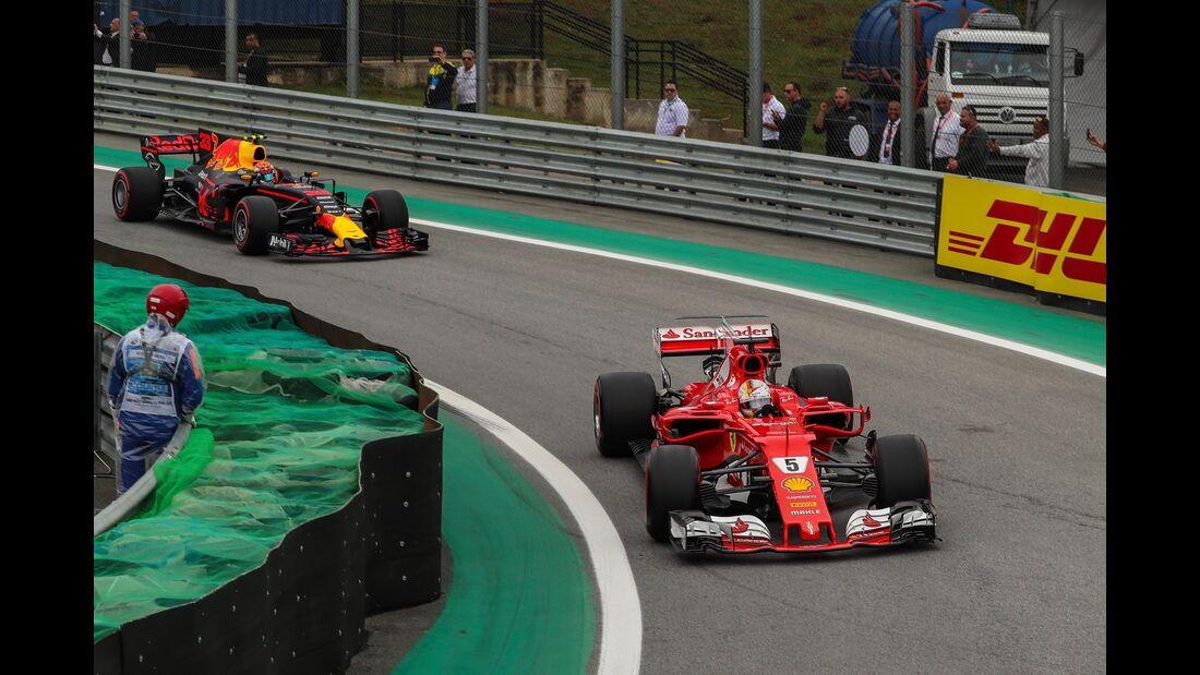 Sebastian Vettel - Ferrari - Formel 1 - GP Brasilien - 11. November 2017