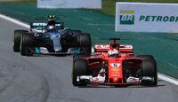 Sebastian Vettel - Ferrari - Formel 1 - GP Brasilien - 12. November 2017