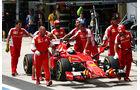 Sebastian Vettel - Ferrari - Formel 1 - GP Brasilien- 14. November 2015