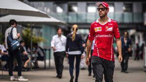 Sebastian Vettel - Ferrari - Formel 1 - GP Brasilien - 9. November 2017