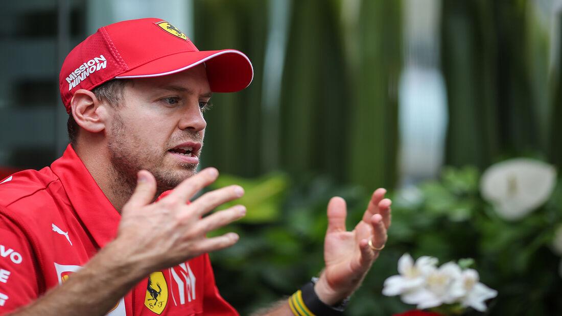 Sebastian Vettel - Ferrari - Formel 1 - GP Brasilien - Sao Paulo - 14. November 2019