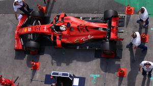 Sebastian Vettel - Ferrari - Formel 1 - GP Brasilien - Sao Paulo - 16. November 2019