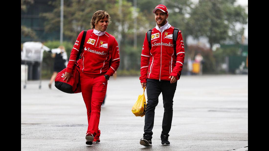 Sebastian Vettel - Ferrari - Formel 1 - GP China 2017 - Shanghai - 7.4.2017