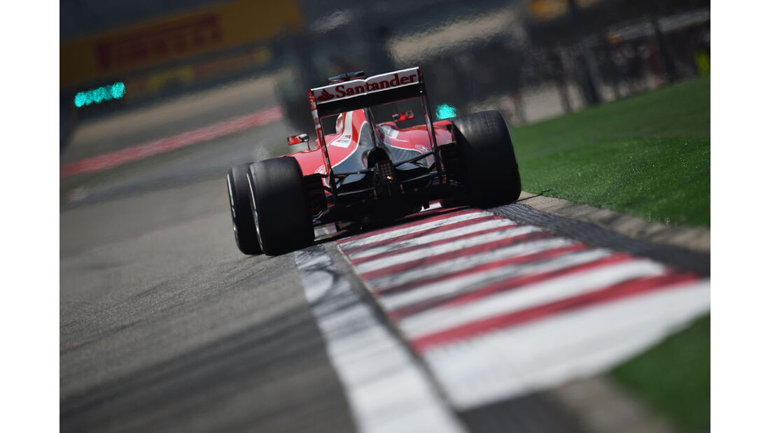 Sebastian Vettel - Ferrari - Formel 1 - GP China - Shanghai - 11. April 2015