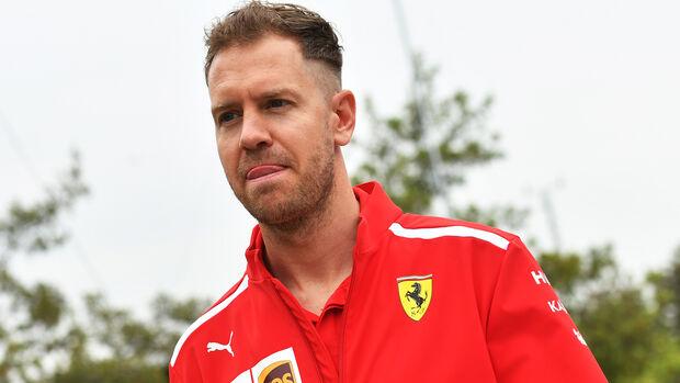 Sebastian Vettel - Ferrari - Formel 1 - GP China - Shanghai - 12. April 2018