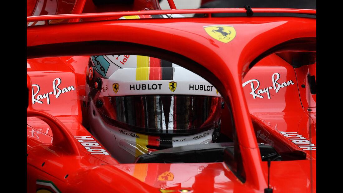 Sebastian Vettel - Ferrari - Formel 1 - GP China - Shanghai - 13. April 2017