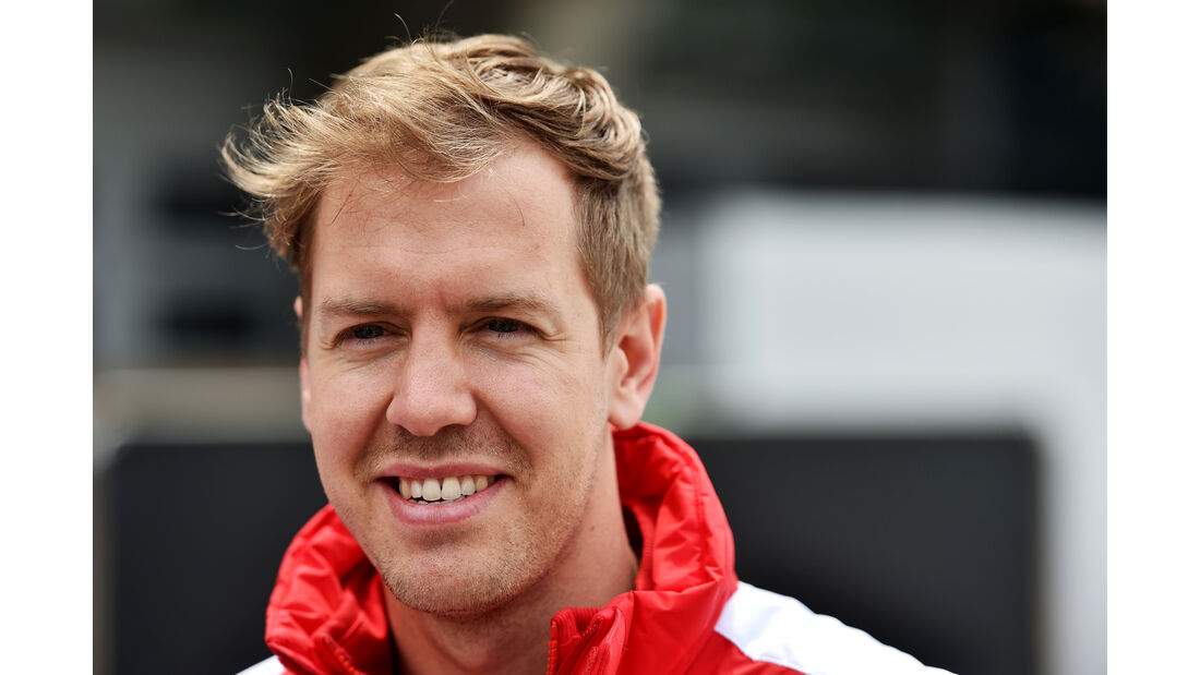 Sebastian Vettel - Ferrari - Formel 1 - GP China - Shanghai - 9. April 2015