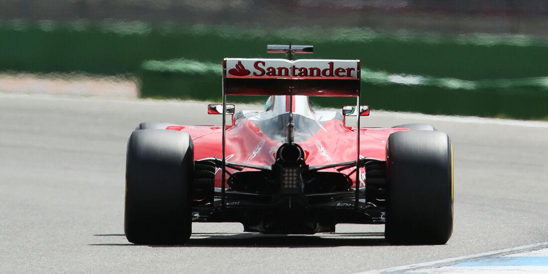 Sebastian Vettel - Ferrari - Formel 1 - GP Deutschland - 29. Juli 2016