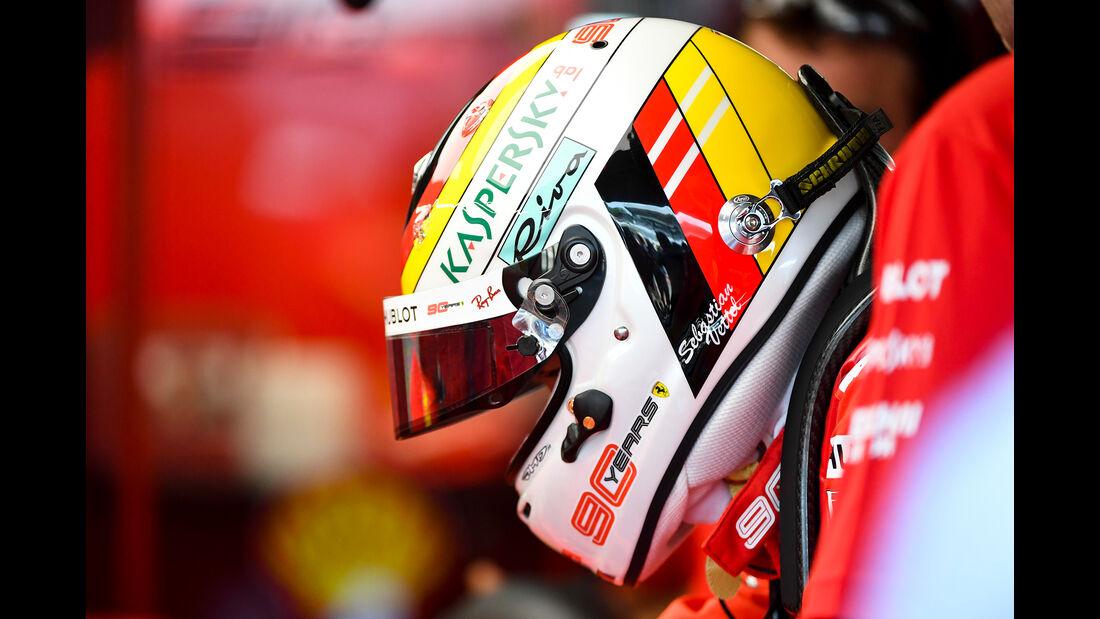 Sebastian Vettel - Ferrari - Formel 1 - GP Deutschland - Hockenheim 2019