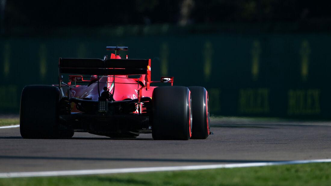 Sebastian Vettel - Ferrari - Formel 1 - GP Emilia-Romagna - Imola - Samstag - 31.10.2020
