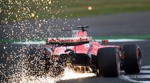 Sebastian Vettel - Ferrari - Formel 1 - GP England - 15. Juli 2017