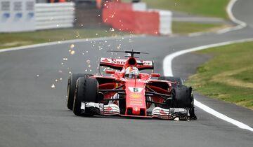 Sebastian Vettel - Ferrari - Formel 1 - GP England - 16. Juli 2017