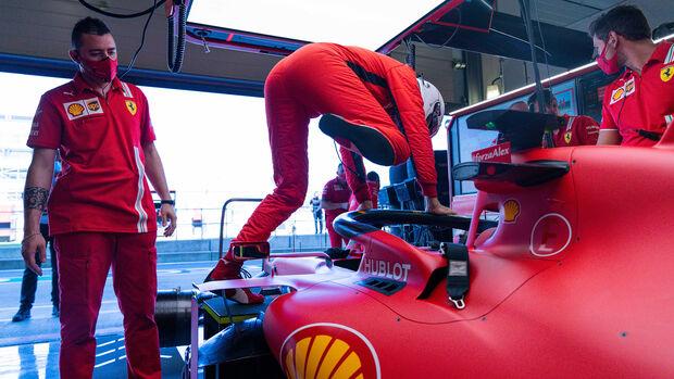 Sebastian Vettel - Ferrari - Formel 1 - GP England - Silverstone - 31. Juli 2020