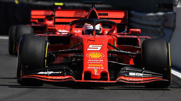 Sebastian Vettel - Ferrari - Formel 1 - GP Frankreich - 22. Juni 2019