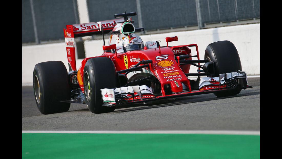 Sebastian Vettel - Ferrari - Formel 1 - GP Italien - Monza - 2. September 2016