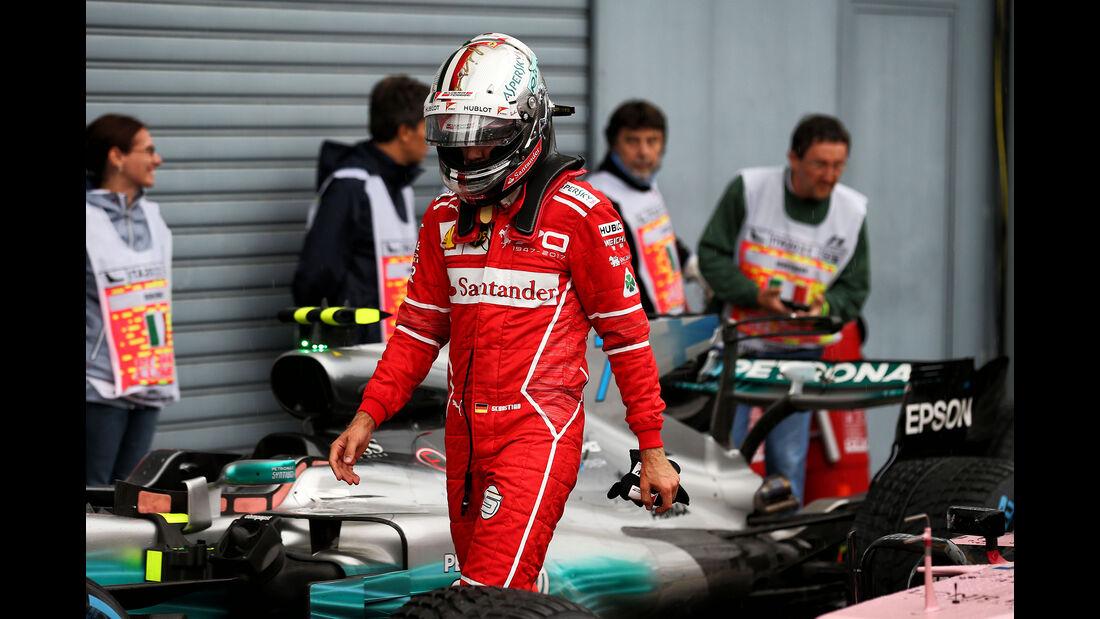 Sebastian Vettel - Ferrari - Formel 1 - GP Italien - Monza - 2. September 2017