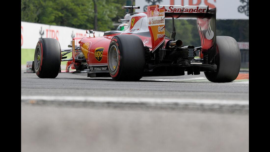 Sebastian Vettel - Ferrari - Formel 1 - GP Italien - Monza - 3. September 2016