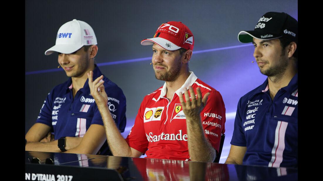 Sebastian Vettel - Ferrari - Formel 1 - GP Italien - Monza - 31. August 2017