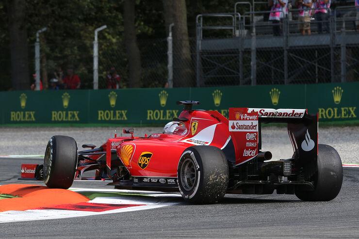 Sebastian Vettel - Ferrari - Formel 1 - GP Italien - Monza - 4. September 2015