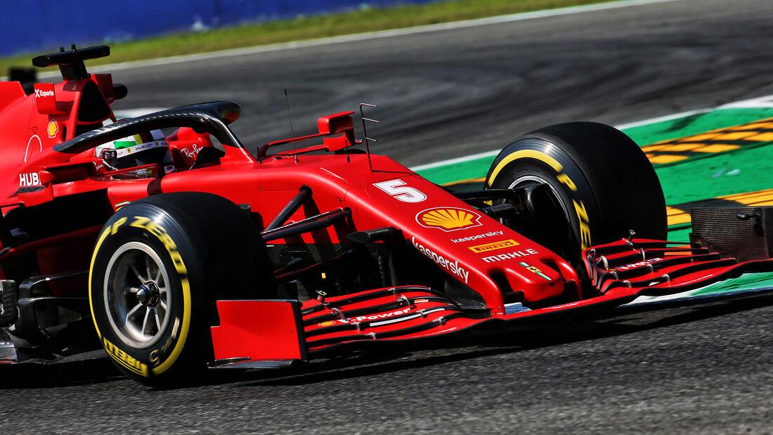 Sebastian Vettel - Ferrari - Formel 1 - GP Italien - Monza - 4. September 2020