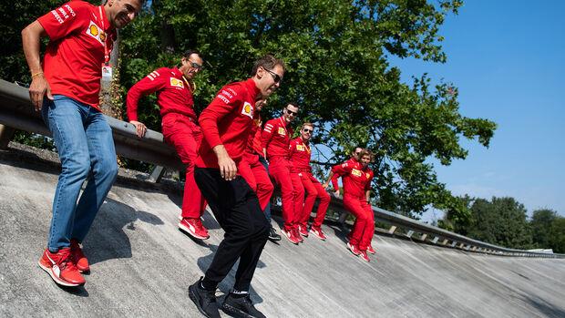 Sebastian Vettel - Ferrari - Formel 1 - GP Italien - Monza - 5. September 2019