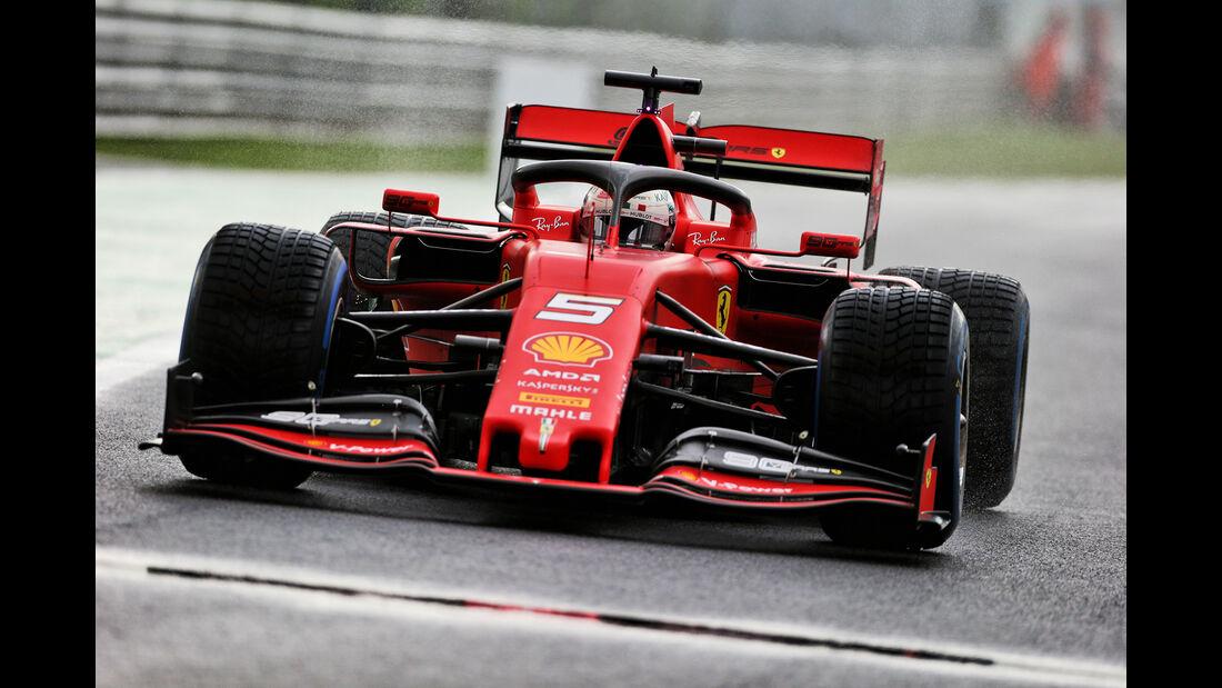 Sebastian Vettel - Ferrari - Formel 1 - GP Italien - Monza - 6. September 2019