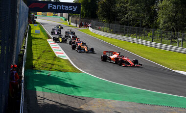 Sebastian Vettel - Ferrari  - Formel 1 - GP Italien - Monza - 7. September 2019