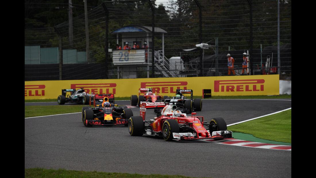 Sebastian Vettel - Ferrari - Formel 1 - GP Japan 2016 - Suzuka