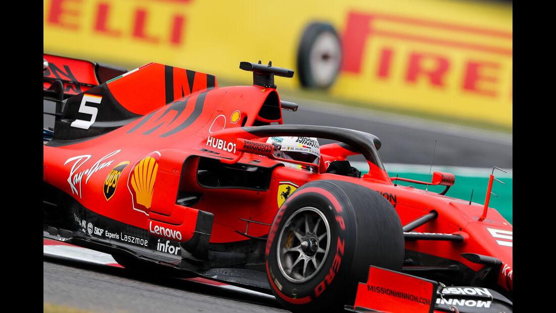 Sebastian Vettel - Ferrari - Formel 1 - GP Japan - Suzuka - 11. Oktober 2019