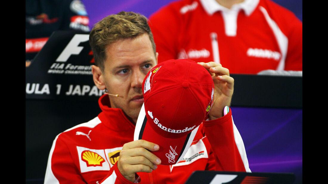 Sebastian Vettel - Ferrari - Formel 1 - GP Japan - Suzuka - 24. September 2015